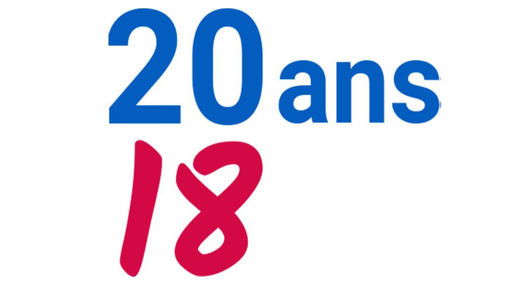 20 ANS DE SERVICE AVEC PASSION